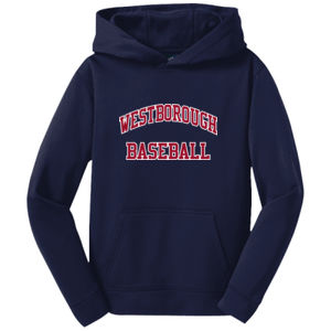 WLL - Youth Sport Wick ® Fleece Hooded Pullover Thumbnail